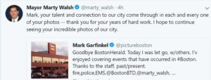 BOSTON HERALD Digital First Media Billionaires Hedge Fund Eliminate Boston's Top Seasoned Photojournalists & Sports Staff
