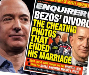 Mogul Law Washington – Amazon owned Washington Post Billionaire Jeff Bezos Getting Divorce Over Fling, Stole Another Mogul Billionaire's Wife. National Enquirer this week.