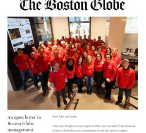 Mogul Law Boston – Is Newspaper Guild CWA local 31245 Relevant Amid Strong Arm Tactics