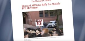 Harvard Customs – Activists, Illegals Ignorant When It Comes to First Amendment. Crimson Student Newspaper Under Fire After Seeking Comment From ICE