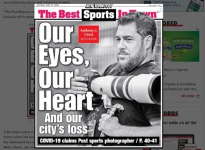 CORONAVIRUS PANDEMIC DISASTER – One of the best sports photographers in New York City dies from COVID-19 disease