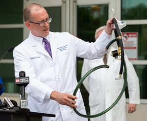 COVID-19 PANDEMIC DISASTER – MEDICAL CENTER INNOVATION  UMMC Builds $ 100 Ventilators From Hardware Store Parts